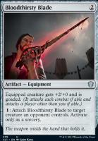Commander 2021: Bloodthirsty Blade