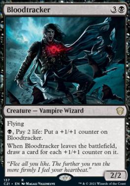 Commander 2021: Bloodtracker