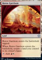 Commander 2021: Boros Garrison
