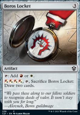 Commander 2021: Boros Locket