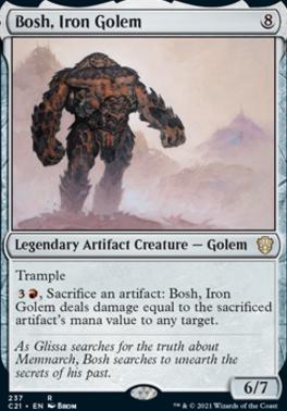 Commander 2021: Bosh, Iron Golem