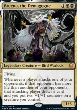 Commander 2021: Breena, the Demagogue (Foil)
