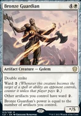 Commander 2021: Bronze Guardian