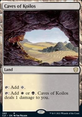 Commander 2021: Caves of Koilos