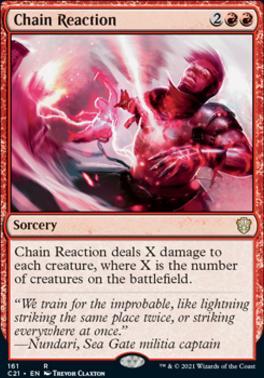 Commander 2021: Chain Reaction