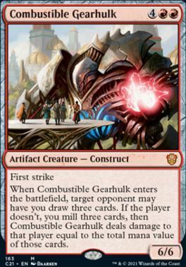 Commander 2021: Combustible Gearhulk