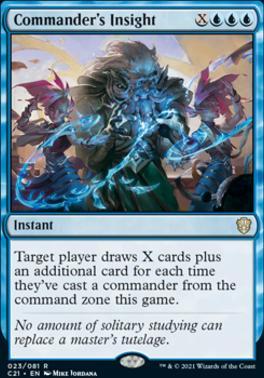 Commander 2021: Commander's Insight