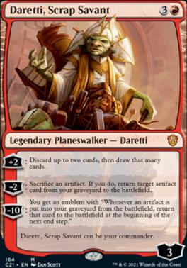 Commander 2021: Daretti, Scrap Savant