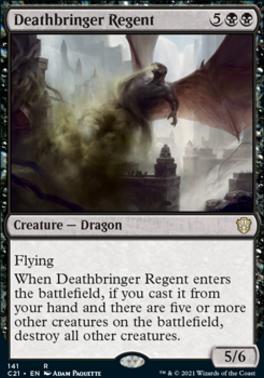 Commander 2021: Deathbringer Regent