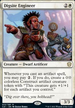 Commander 2021: Digsite Engineer