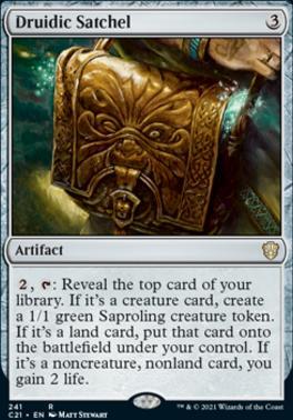 Commander 2021: Druidic Satchel