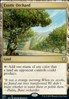Commander 2021: Exotic Orchard