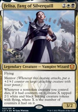 Commander 2021: Felisa, Fang of Silverquill (Foil)