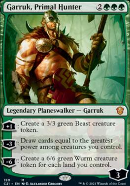 Commander 2021: Garruk, Primal Hunter