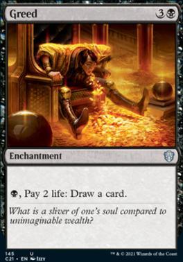 Commander 2021: Greed