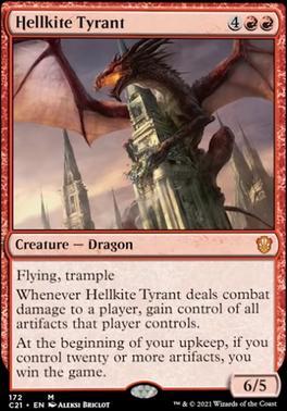 Commander 2021: Hellkite Tyrant
