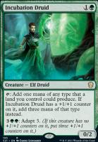 Commander 2021: Incubation Druid