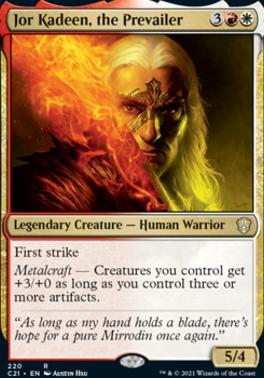 Commander 2021: Jor Kadeen, the Prevailer