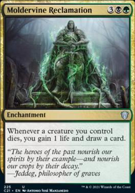 Commander 2021: Moldervine Reclamation