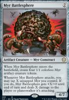 Commander 2021: Myr Battlesphere
