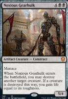 Commander 2021: Noxious Gearhulk