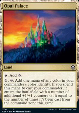 Commander 2021: Opal Palace