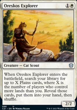 Commander 2021: Oreskos Explorer