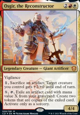 Commander 2021: Osgir, the Reconstructor (Foil)