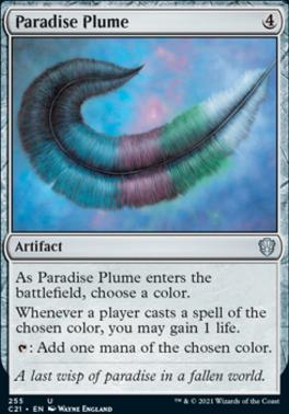 Commander 2021: Paradise Plume