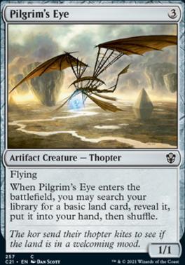 Commander 2021: Pilgrim's Eye