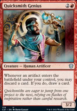 Commander 2021: Quicksmith Genius
