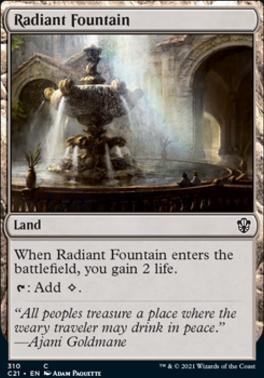Commander 2021: Radiant Fountain
