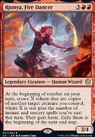 Commander 2021: Rionya, Fire Dancer