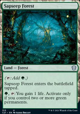 Commander 2021: Sapseep Forest