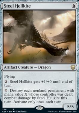 Commander 2021: Steel Hellkite