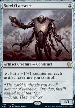 Commander 2021: Steel Overseer