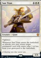 Commander 2021: Sun Titan