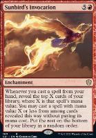 Commander 2021: Sunbird's Invocation