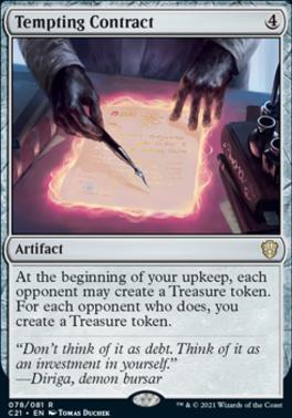 Commander 2021: Tempting Contract