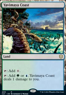 Commander 2021: Yavimaya Coast