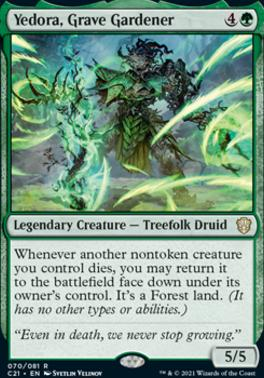 Commander 2021: Yedora, Grave Gardener
