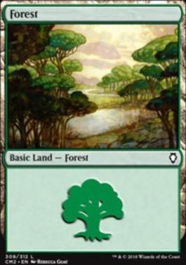 Commander Anthology Vol. II: Forest (309 D)