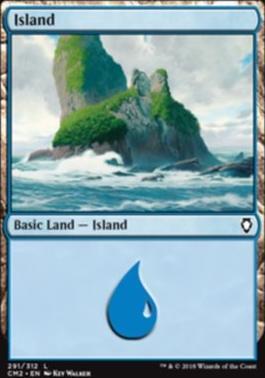 Commander Anthology Vol. II: Island (291 F)