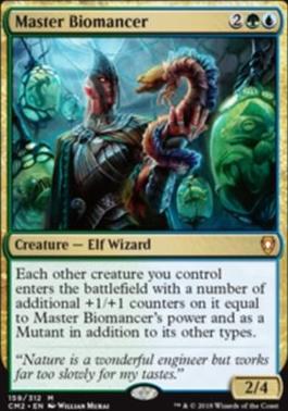 Commander Anthology Vol. II: Master Biomancer
