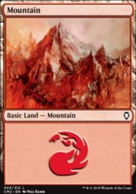 Commander Anthology Vol. II: Mountain (303 D)