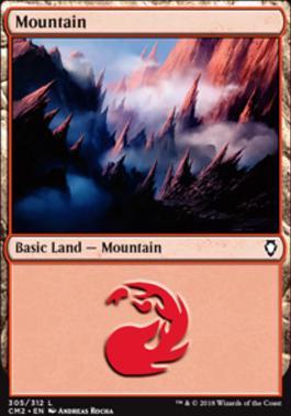 Commander Anthology Vol. II: Mountain (305 F)