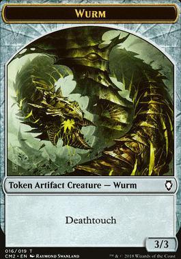 Commander Anthology Vol. II: Wurm Token (Deathtouch)