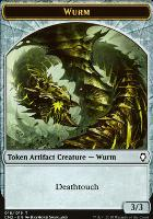 Commander Anthology Vol. II: Wurm Token (Deathtouch)
