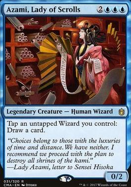 Commander Anthology: Azami, Lady of Scrolls