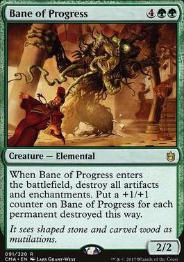 Commander Anthology: Bane of Progress